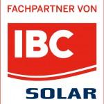 """Logo """"Fachpartner"""" von IBC Solar"""
