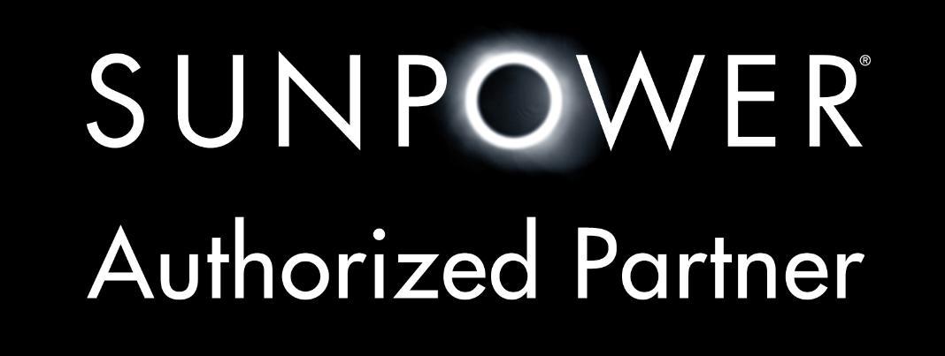 """Logo """"Authorized Partner"""" von SunPower"""