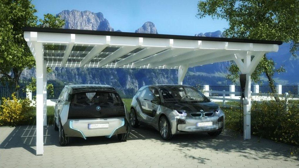 Carport Solarwatt